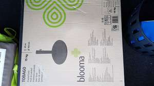 Tobago 15kg blooma parasol base - reduced to £11.20 @ B&Q