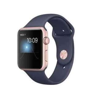 Apple Watch 2 42mm rose gold with navy strap - £295.97 with Which subscription @ Laptops Direct