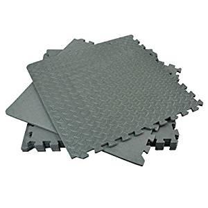 Rolson 60817 Floor Mat Set, 120 x 180 cm - 6 Pieces - £10 (Prime) £14.75 (Non Prime) @ Amazon