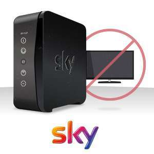 Get Sky Broadband without TV from £20 per month at Sky