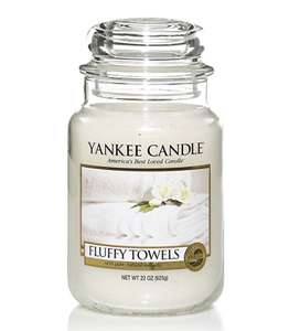 Yankee Candle large jar fluffy towels - £9.99 (Prime) £14.74 (Non Prime) @ Sold by My Swift and Fulfilled by Amazon.