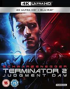 Terminator 2 - 4k UHD Blu Ray, Blu Ray & HD Digital Copy - Only £14.92 delivered @ WowHD