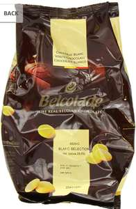Belcolade Chocolate White Easi-Melt Buttons 1 Kg (Pack of 2) @ Amazon for £9.74 (£12.74 non-Prime)
