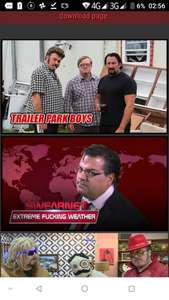 A free months access to Swearnet (Trailer Park Boys)