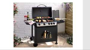 4 burner gas BBQ with Side burner for £62.49 inc delivery at Studio