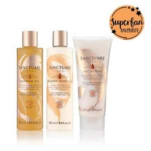 Sanctuary Spa - LONG LASTING MOISTURE COLLECTION was £22 until Tuesday is £11.00.