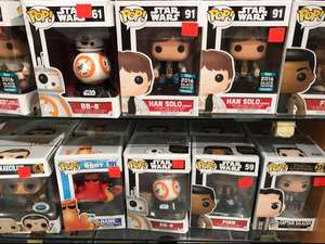 Star Wars / Finding Dory / PotC POP! Figures - £3.99 Disney Store