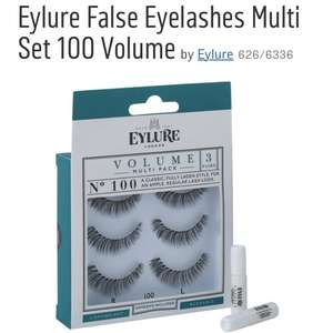 Eylure volume lashes (multipack) at Argos for £5.99
