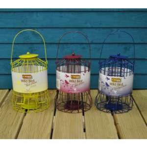 Set of 3 x Squirrel Proof Bird Feeders - Nut, Seed & Fat Ball £9