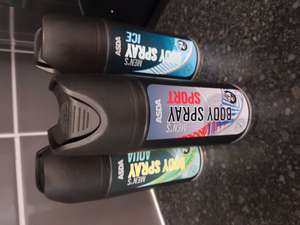 3x Men's Body Spray £1.10 ASDA