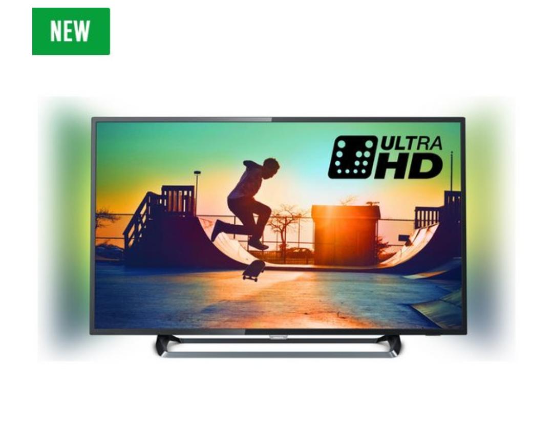 Philips 55PUS6262 55 Inch 4K UHD HDR Ambilight Smart TV £584.10 @ Argos
