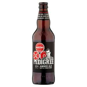Marston's Pedigree Pale Ale £1 per 500ml Bottle @ Morrisons