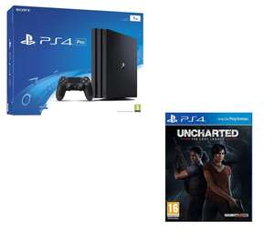 SONY Pro & Horizon Zero Dawn Bundle – 1 TB £286.38 / SONY PlayStation 4 Pro & Uncharted: The Lost Legacy Bundle - 1 TB £286.38 @ Currys (XBOX ONE, PSVR, PS4 WORKS AS WELL)
