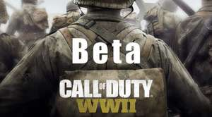 Call of Duty: WWII Private Beta Free with o2 priority