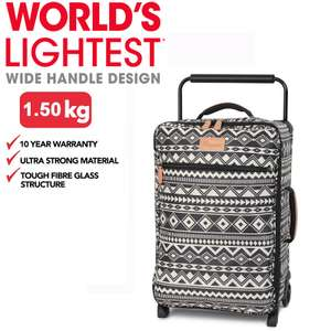 it. luggage Zig Tribal 0588B 2 Wheels Cabin Suitcase ONLY £34.99 Plus a special offer of Buy One get One Free @ BagsETC