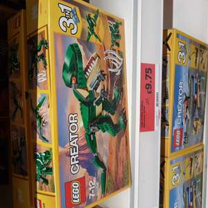 Lego 31058 Dinosaur £9.75 IN STORE at Sainsburys