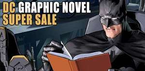 DC Graphic Novel Sale (Lots at £2.99 or cheaper) @ Forbidden Planet [Batman, Justice League, Superman, Catwoman, Green Arrow, Wonder Woman, Green Lantern + more]