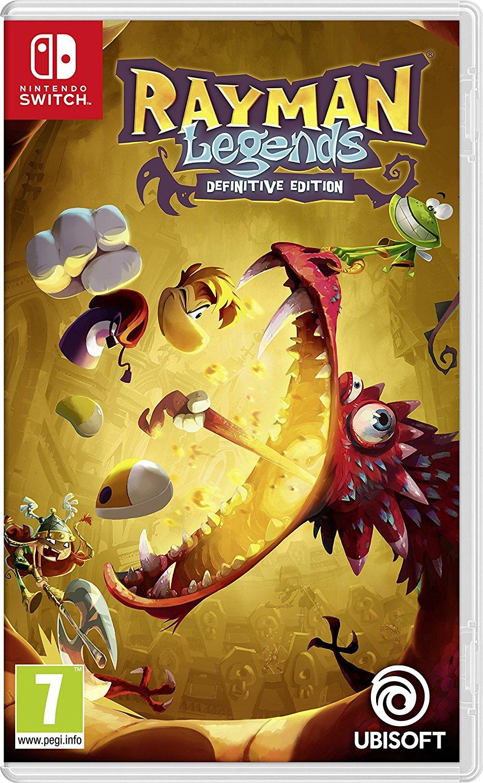 Rayman Legends: Definitive Edition (Pre-order) - Nintendo Switch (£23.99 - Amazon / £25.99 Non Prime)