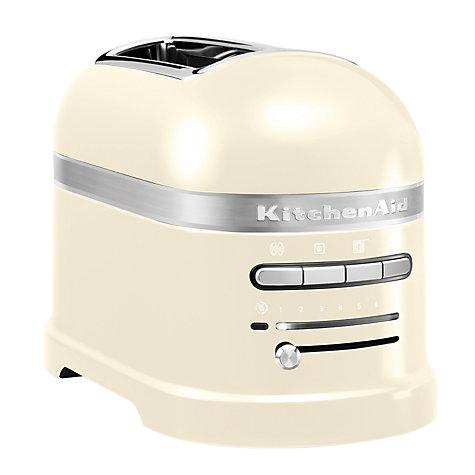 KitchenAid Artisan 2-Slice Toaster, Almond Cream - £109 @ John Lewis