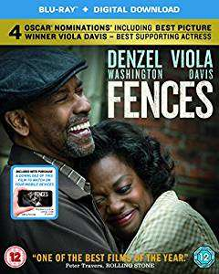 Fences (Denzel Washington) on Blu Ray - £7.49 Amazon Prime / £9.48 non-Prime