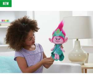 DreamWorks Trolls Queen Poppy Talkin' Troll Plush Doll Was £27.99 Now £9.99 @ Argos