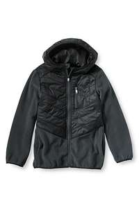 Boys' Fleece Hybrid Jacket Was £54.95 Now £20.00 @ Landsend plus more