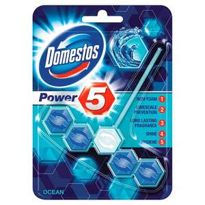 Domestos toilet rim block, Tesco £2.50 each but £2 for 2