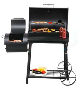 Tepro Biloxi Smoker Barbecue- Black for £74.93 @ Amazon