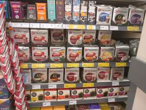 2 for £7 or 2 for £8 Mixed variety's of Tassimo in Morrisons