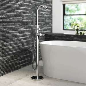 freestanding AND thermostatic bath tap £154.99 @  iBathUK Ebay