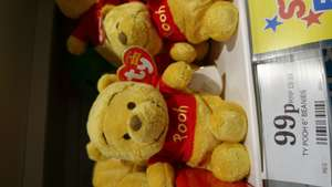 "Ty 6"" soft beany Pooh 99p @ home bargains"