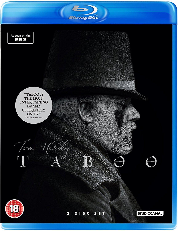 Taboo Blu-Ray Amazon £15.99 Prime £17.98 non Prime Tom Hardy 3 Disc Set