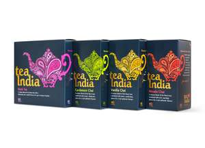 Claim free samples of Tea India Chai