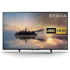 Amazon deal of the day Sony Bravia 43 inch 4K HDR Smart TV (2017 Model) - Black [Energy Class a] Item model number: KD43XE7093BU - £599 @ amazon