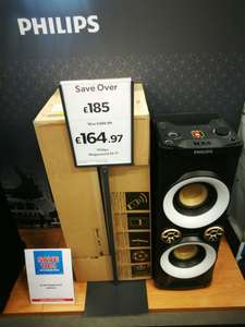Phillips megasound nx4 - £164.97 instore @ Currys (Telford)