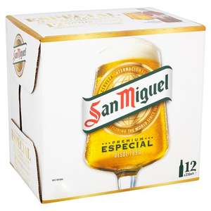 San Miguel 12 bottles for £6 @ Morrisons