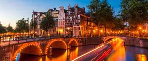 From Manchester: 2 Nights in Amsterdam,  flights, central boat hotel + breakfast £96.92pp @ Easyjet/Hotelopia
