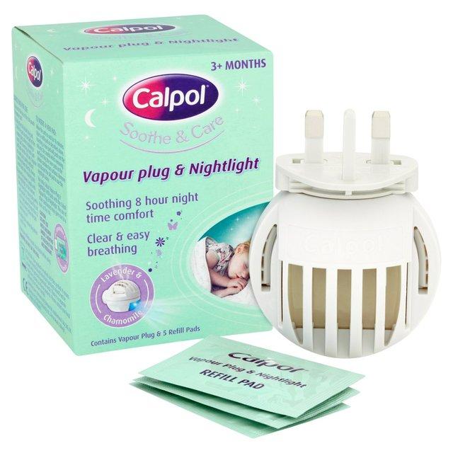 Calpol Vapour Plugin + 5 Refills £3 Sainsburys instore