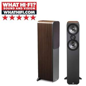 Q Acoustics 3050 what hi-fi 5* floorstanding speakers price match - £439 @ richersounds