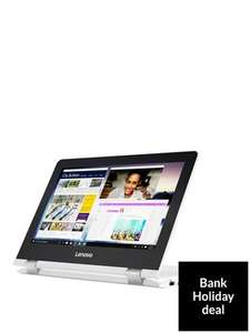 Lenovo YOGA 300-11IBR Intel® Celeron®, 4Gb RAM, 500Gb Hard Drive, 11.6 inch Touchscreen 2-in-1 Laptop £249.99 @ Very