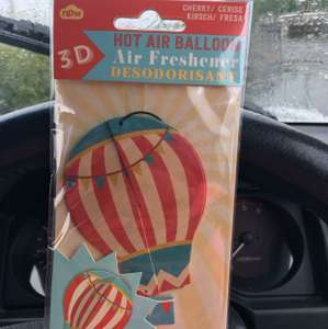 Cute 3D car air freshener - 19p @ Home Bargains