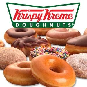 Krispy Kreme buy a 2nd dozen for £5 and get a free hot drink