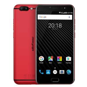 Ulefone T1 Dual Rear Camera Mobile Phone 5.5 inch FHD Helio P25 Octa Core Android 7.0 6GB 64GB 16MP Cam Fingerprint 4G Cellphone with band 20 support £157.26 @ aliexpress/ulephone official store
