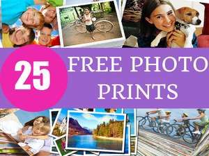 25 photo prints @ truprint for absolutely nothing = FREE !!! - Some new accounts rejected. But EXISTING accounts