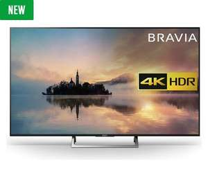 Sony KD55XE7002BU 55 Inch Smart 4K UHD TV with HDR for £674.10 and £10 voucher @ Argos