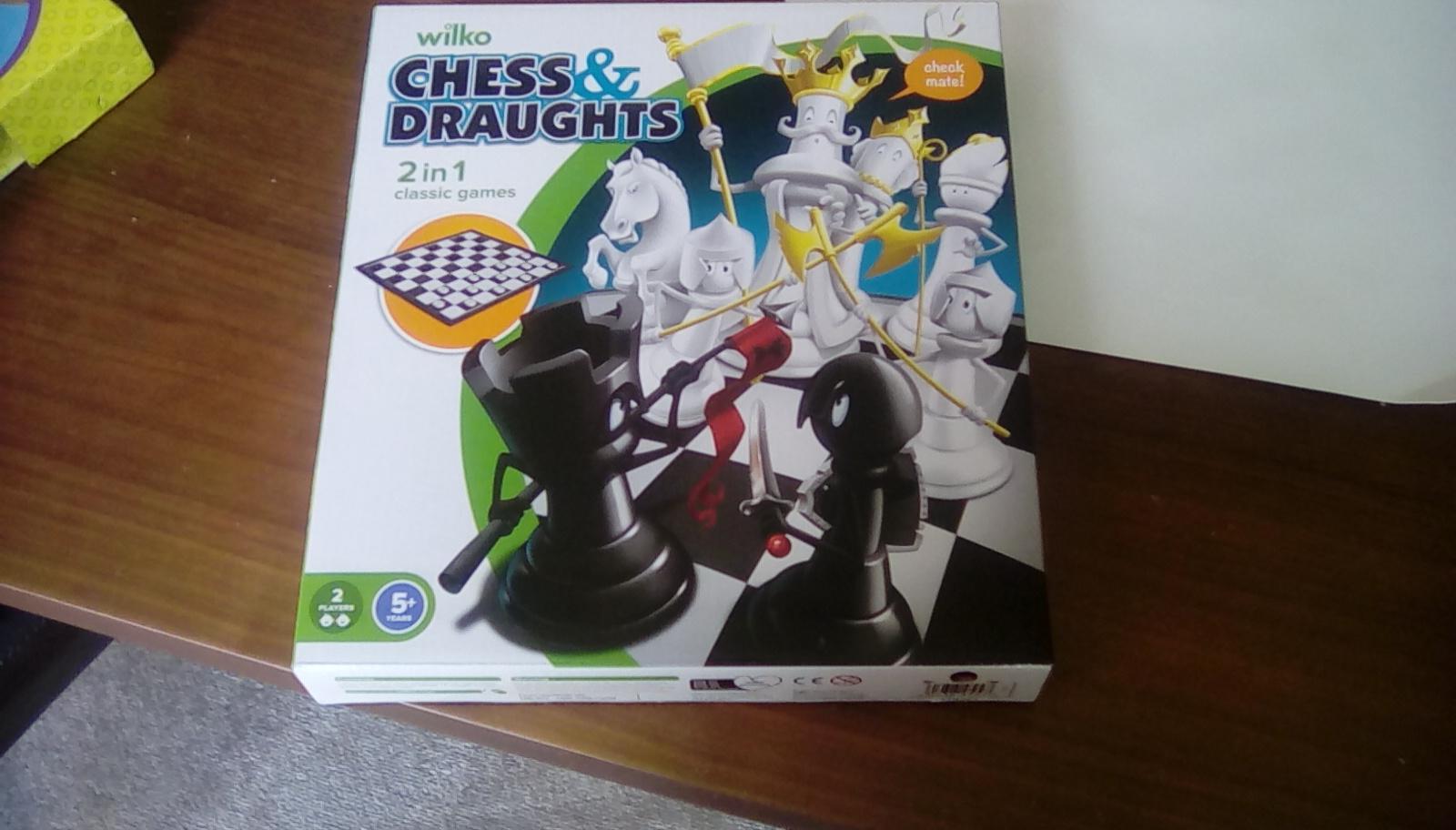 Wilko chess and draughts - £1 instore @ Wilko