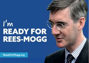 "FREE ""I'm Ready for Rees-Mogg"" poster"