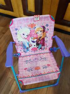 Frozen folding chair from bargain buys £1.50 instore