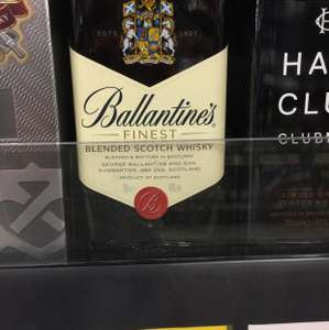 Ballantines Whiskey - £15 instore @ Asda - Newark