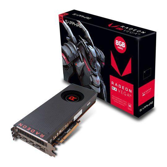 Standalone Sapphire AMD Radeon RX VEGA 56 8GB HBM2 Graphics Card Preorder - £395.48 (free C+C) @ Scan